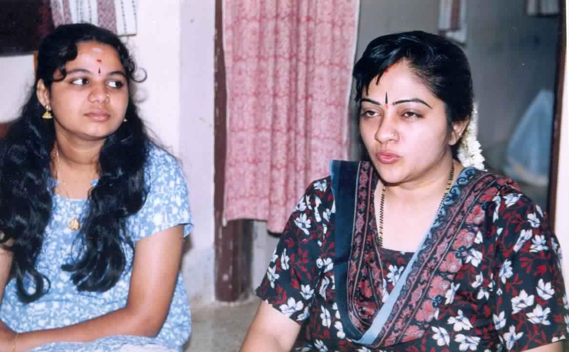 Ranjani with Smt S Sowmya